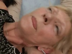Granny Gets A Fuck And Facial !