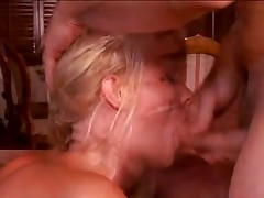 British Slut has intense anal and DP with 2 older guys (OH4P)