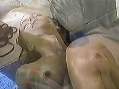 PJ Sparxx and Felecia gamesome in hammer away synthesize