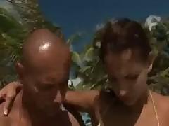 Caribian Beach - Anal-Threesome