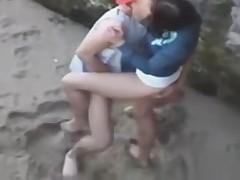 GOOD FUCK ON THE BEACH