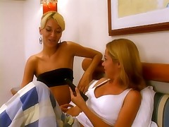 2 Blonde Brazillian Lezzies