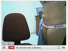 Busty teen webcam