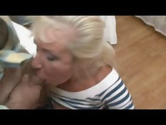 Gold Teeth Blonde Granny Fucked