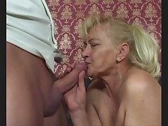 Dirty Old Granny Barmaid serves up all her holes