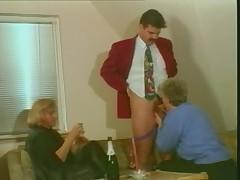 Grey haired granny still loves cock