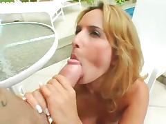 Brazilian babe in da butt