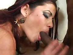 Brazilian hot two cocks