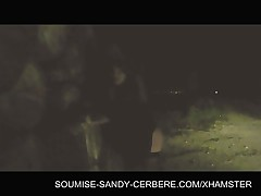 Video bdsm soumise sandy - bdsm night outdoor session