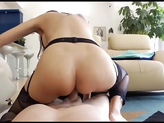 Asian boss with french accent POV