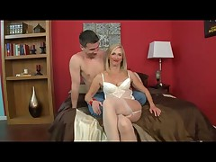 Glamorous Granny nearby Stockings Loves Anal