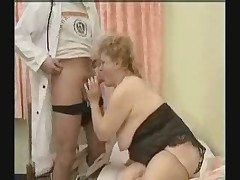 BBW Fat Granny Seduced by the Doctor