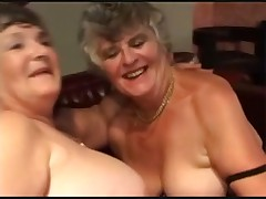 Two Grannies Enjoying Men