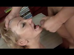 Toothless Chubby Gummy Granny Blowjob and Fuck