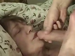 Neighbor (56 y.) gets my cock and cum