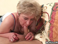 Wife becomes furious when finds her man fucking her mom