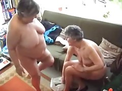 Two Grannies Try Out their Toys