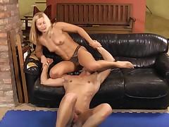 Diana Pulls Cock