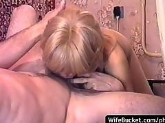 Russian MILF homemade fuck part 2