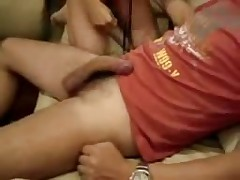 A Brazilian Cuckold Husband Films His Wife With A Bull