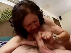 Big saggy hairy granny