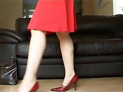 Voyeur -twoe babes back from shoping (MrNo)