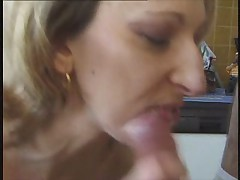 French POV milf anal component and french guy
