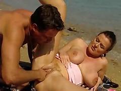 Fucking at beach