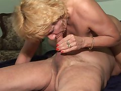 Tanlines Granny Toys and Fucks
