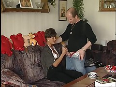 German Mature Couple Fucking