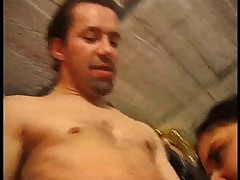 French brunette fucked by a big cock