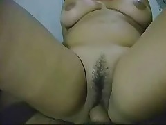 Very hot big tit brazilian having sex