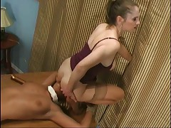 Payed a visit to my subslut in her office