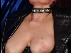 Hot Pierced Granny Sucks and Fucks