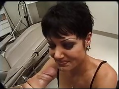 Jeanna fine give head to the doctor