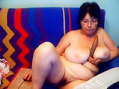 Granny in a Webcam