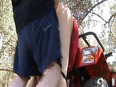 Wife outdoor fuck and masturbation