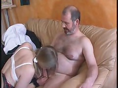 French Teenager With Experienced Man