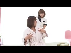 Akina and Kai - Lesbian massage and love 1