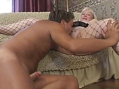 Blonde Busty Mature With Young Impoverish