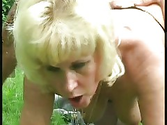 German blonde granny part 2