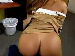 Lap Dance In Office