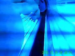 spycam im Teeny solarium