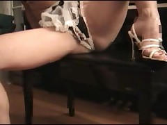 Crotchless maid