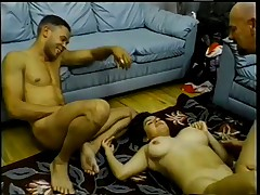 Hairy Arab Slut Assfucked and DPed