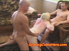HOME Video from my Grannies Swingers Party