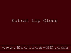 Eufrat Mirrored Wet lipstick and pussy,