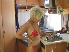 Hottie fucking on a yacht