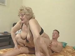 Granny in glasses