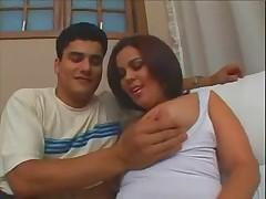 Cute Brazilian Teen anal